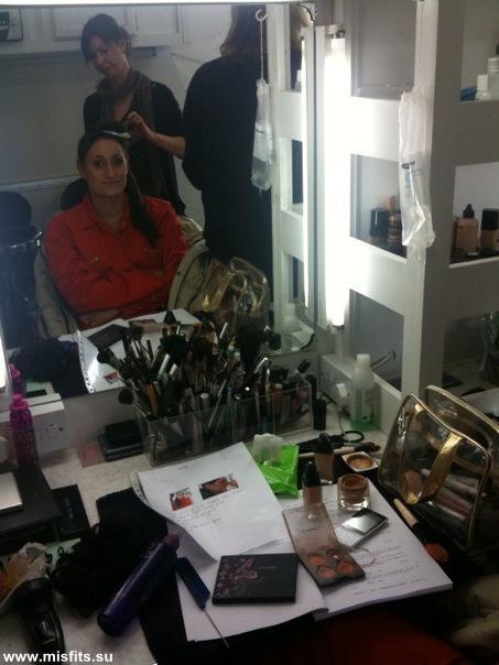 Filming of the third season Misfits_3